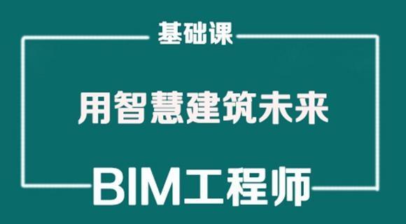 2019年BIM工程师《基础理论课》